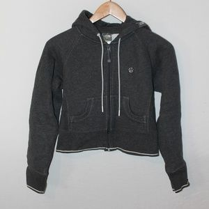 North Face A5, crop hoodie, like new